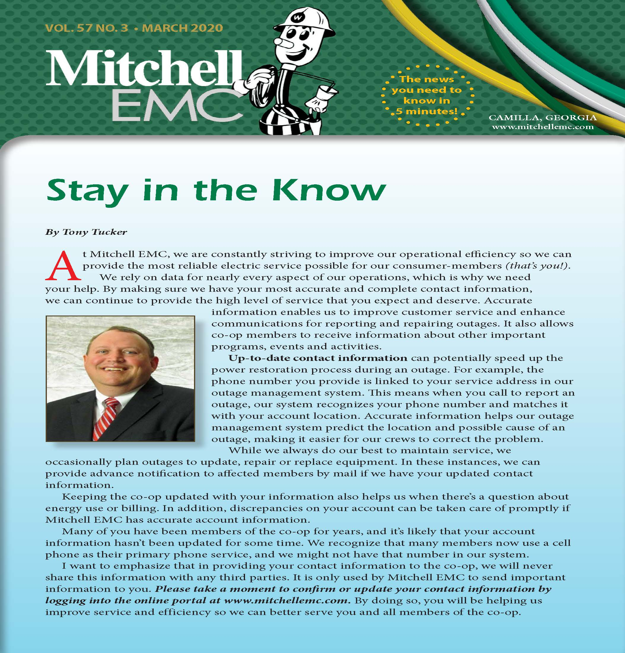 Image of Mitchell EMC Newsletter: Click here to view the latest Mitchell EMC Newsletter